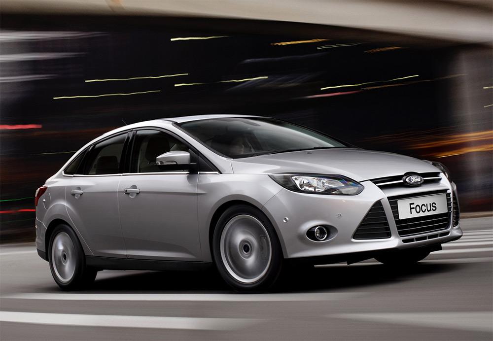 Пополнение в автопарке Ford focus trend 2012